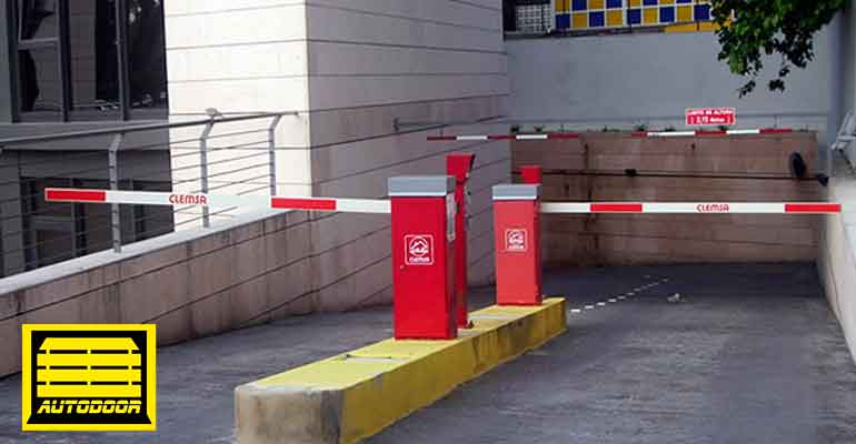 Barreras Automáticas Autodor parking rampa