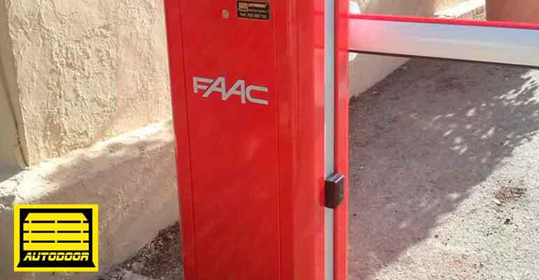Barreras automáticas Autdoor soporte