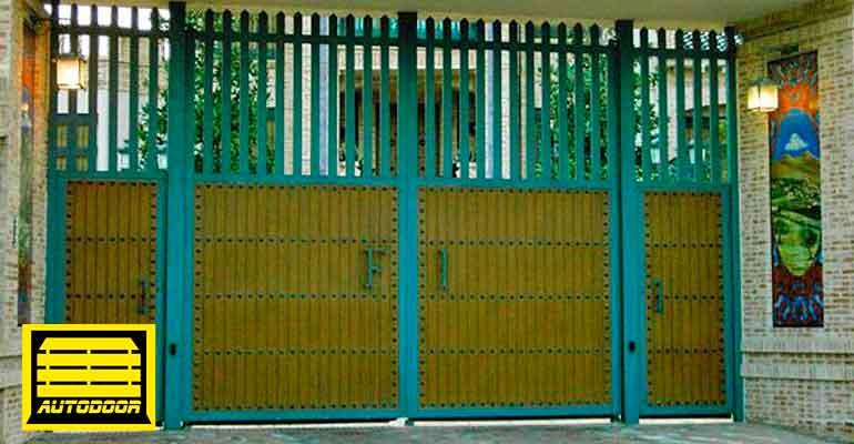 Puertas Automáticas Abatibles Autodoor doble