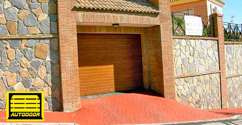 Puertas Enrollables madera